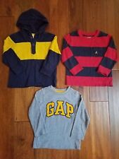 Lot Gap Gymboree Boy's Logo Hoodie Henley Striped Shirts Tees Tops 3 3T
