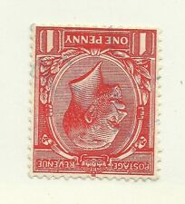GV SG419wi.d. N34b.d. listed variety on inverted wmk. inverted Q for O, rare,VFU