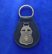 FBI Special Agent Leder Schlüsselanhänger