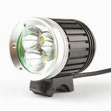 3 x CREE XM-L T6 LED 5000Lm Bicycle Headlamp Bike Head Torch Light