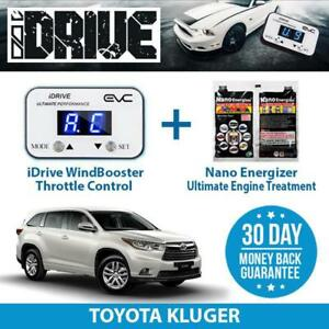 IDRIVE THROTTLE CONTROL FOR TOYOTA KLUGER + NANO ENERGIZER AIO