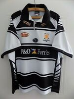 2006 Hull FC Home ISC Rugby League Mens Jersey Shirt Adults Training Top Polo XL