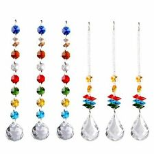 Us Set 6 Window Rainbow Suncatcher Crystal Ball Prism Pendant Home Decor Gift