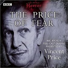 The Price of Fear (Classic BBC Radio Horror) - audio CD NEW SEALED