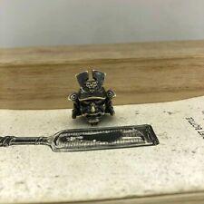 EDC GEAR Latón Samurai cuchillo del grano Hágalo usted mismo Paraguas Cuerda Llavero Colgante BZ-09