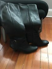 Women's Knee High Boot - Style Cassidy - Black Size 9