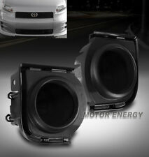 08 09 10 SCION XB BUMPER DARK SMOKE FOG LIGHTS W/HARNESS+SWITCH LEFT+RIGHT PAIR
