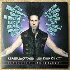 ROCK TRIBUNE - WAYNE STATIC - VOL.110 - CD PROMO