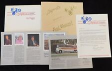 Legend's Corporation Presents Art Works From Evel Knievel 1983 Brochure