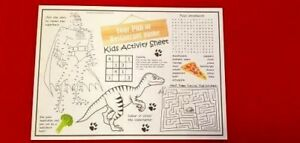 Children's Activity Packs Ideal for Weddings /  Restaurants and Cafes