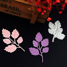 Leaves Leaf Cutting Dies Stencils Scrapbook Album Embossing DIY Card Paper Decor