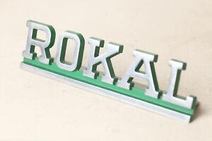 Rokal Tt Advertising For Eisenbahngeschäfte Writing Rokal Green (187290)