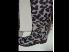 Botas de agua n38 adorno leopardo