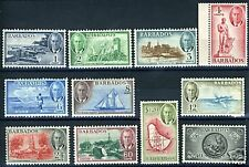 Barbados Scott#216/23,225/27 Sg#271/78, 280/82 Mint Nh
