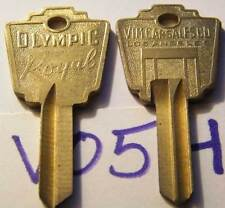 1916 VIM Car Sales Co. Los Angeles Olympic Royal Ilco Key Blanks V05HR 2 Blanks