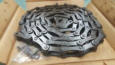2060 RIVETED ROLLER CHAIN 10FT NEW USA(ATLAS) W/FREE CONNECTOR LINK