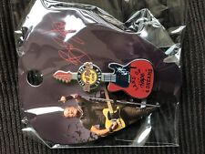 Hard Rock Cafe London Bruce Springsteen guitar pin whyhunger series