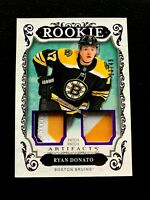 2018-19 Artifacts Materials Purple #164 Ryan Donato /49