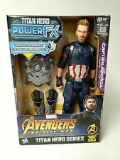 Captain America Action Figure - Voice in French - BRAND NEW