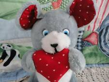 Ganz Bros Toys Toronto Antique Vintage Mouse w Heart Valentines Day Plush 10 in.