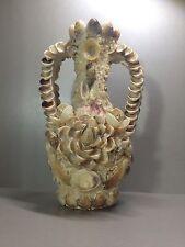 Fabulous Handmade Crafted Shell Vase Mallorca