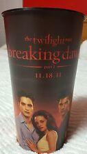 Twilight Saga Breaking Dawn part 1 - 44oz Promo Cup- Edward,Jacob & Bella