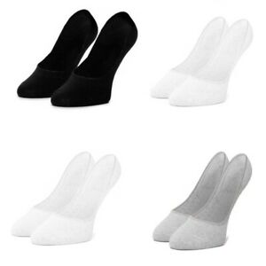 Adidas Womens Socks No Show Ankle Linear Sports Training Gym Sock Size