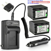 Kastar Battery AC Travel Charger for Panasonic VW-VBK360 & HDC-HS60 HDC-HS60K