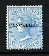 Mint Hinged Colony Victoria (1840-1901) Mauritius Stamps