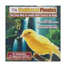 Feathered Phonics Volume 7: The Easy Way To Teach Your Canary T... Free Shipping