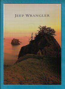 1997 JEEP WRANGLER 12 PAGE BROCHURE