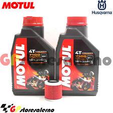 TAGLIANDO OLIO + FILTRO MOTUL 7100 10W50 HUSQVARNA 610 SM S IE 2007