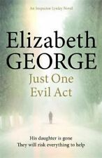 NEW Just One Evil Act By Elizabeth George Paperback Free Shipping