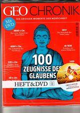 Geo CHRONIK Nr. 2 100 Zeugnisse des Glaubens, Heft +DVD