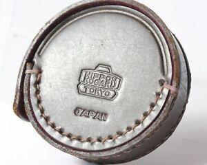 Nippon Kogaku Leather Filter Case w/ Nikon F No. 1 Close Up Filter