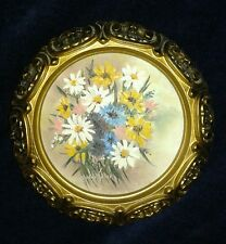 GLADYS FULLER Miniature Oil on Canvas ~Well Listed New Mexico Artist *Rare*