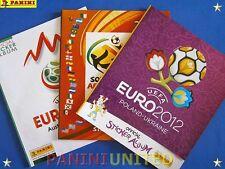 Panini★WM World Cup EURO EM★3x Leeralbum/empty album 2008 2010 2012