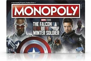 Monopoly Marvel Studios The Falcon and The Winter Soldier Board Game