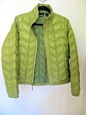 Marmot Lightweight Down Jacket Full Zip Puffer Green Women's Medium
