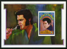 Gambia 1191 S/S, MI Bl.142, MNH. Famous Musicians: Elvis Presley, 1992