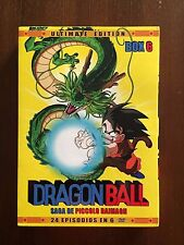 DRAGON BALL BOX 6 ULTIMATE EDITION RESTAURADA INTEGRA  SIN CENSURA 600 MIN 6DVD