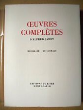 ALFRED JARRY MESSALINE LE SURMALE OEUVRES COMPLÈTES TOME III