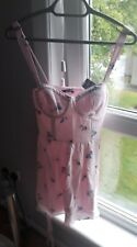 NEW Abercrombie & fitch pink corset dress size 10