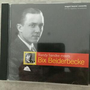 RANDY SANDKE meets Bix Beiderbecke (CD Nagel-Heyer 3002 Digital / neu)