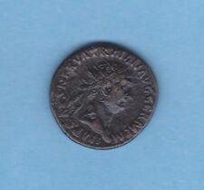 (ROM 39) TRAJAN (98-117) DUPONDIUS Revers TRIPOT COS II (TTB-)