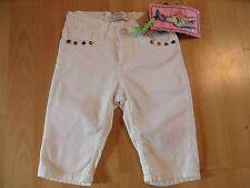 VINGINO bella 3/4 Jeans Pantaloni ROBERTA bianco tg. 104 O. 110 NUOVO 216