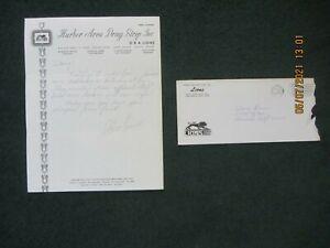 Drag Racing Memorabilia. Lions Dragstrip. Steve Evans Autograph.