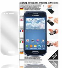 6x Displayschutzfolien für Samsung Galaxy S3 mini Schutzfolie Klar Folie