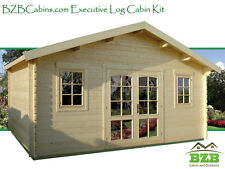 "Log Cabin Kit, Pool or Garden House, 16'5""x13', 212 Sq.Ft.Free Shipping!"
