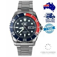SEIKO 5 Sports SNZF15J1 SNZF15 Automatic Japan Sea Urchin Stainless Mens Watch